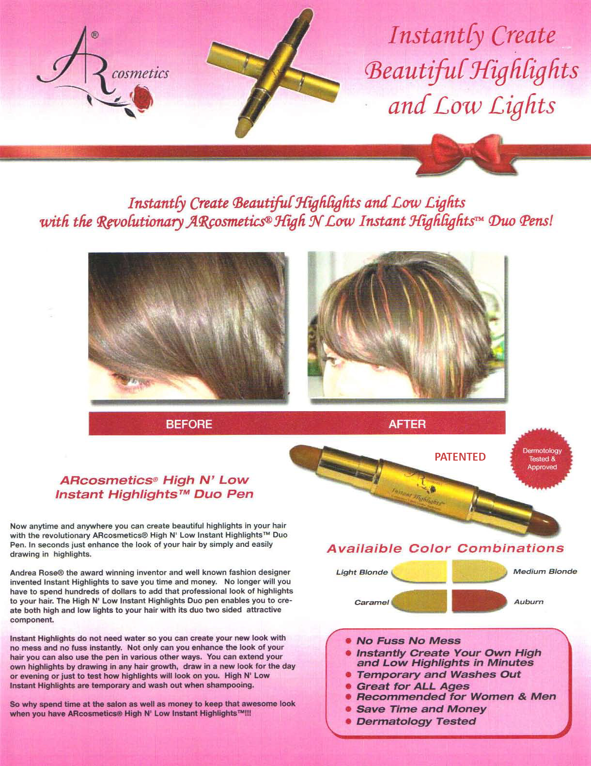 Arstyle Institute Funlights Instant Highlights Age Away
